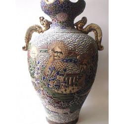 Japonská váza- kamenina