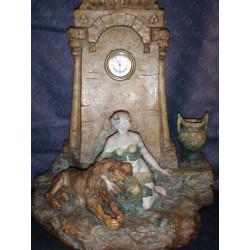 Art Nouveau clock from 1900