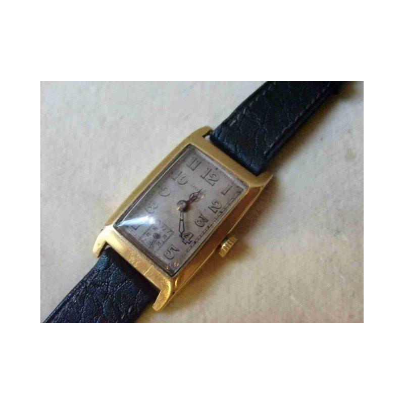 afde46f16 Náramkové, zlaté hodinky zn. Doxa, 20. století