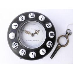 Key-wind pocket watch, 19th...