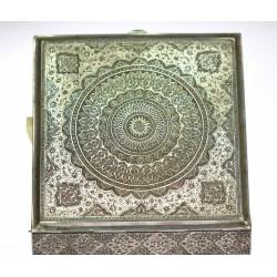 Stříbrná krabička - Orient