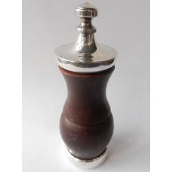Silver pepper grinder -...