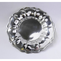 Stříbrný talíř