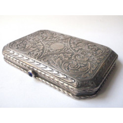 Stříbrná krabička