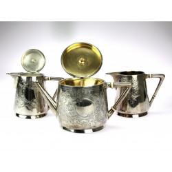 Stříbrný set na kávu a čaj...