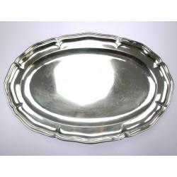 Silver tray - J. Siggard