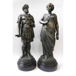Sousoší Římana a Římanky