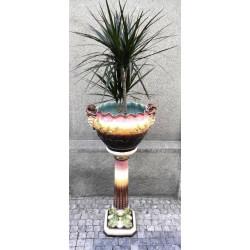 Art Nouveau plant pot -...