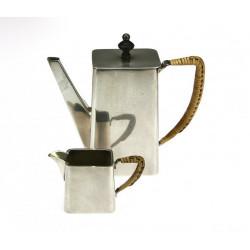 Coffee and milk pot set