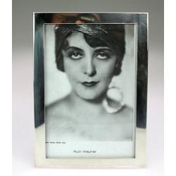 Stříbrný rámeček na fotografie