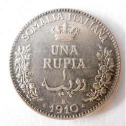 Stříbrná mince - 1 Rupie,...