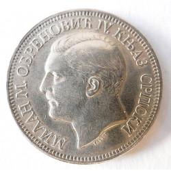 Stříbrná mince - 5 Dinárů,...