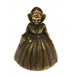 Bronzový zvoneček - panenka