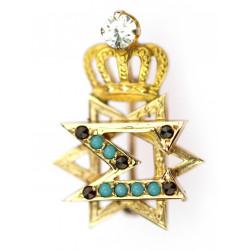Zlatá brož - Davidova hvězda