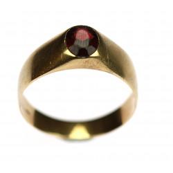 Zlatý pánský prsten s...
