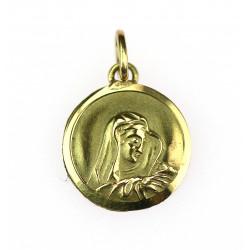 Zlatá madonka - přívěsek