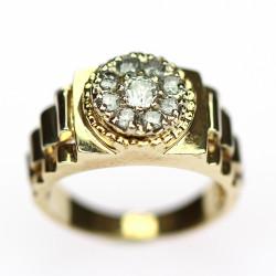 """Prstýnek s diamanty - """"Rolex"""""""