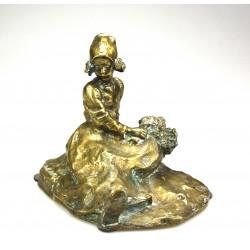 Secesní socha - Mladá...