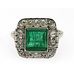 Reservation - Gold emerald...