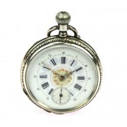 Stříbrné kapesní hodinky