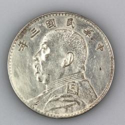 Čínský dolar - 1914