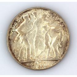 Silver coin - 10th...