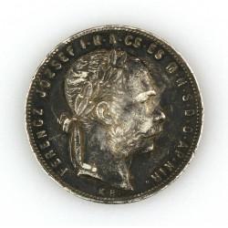 Stříbrná mince 1 Forint -...