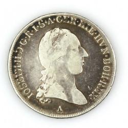 Stříbrná mince - 1/2 tolar...
