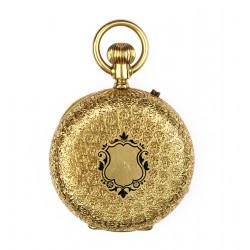 Zlaté kapesní hodinky -...