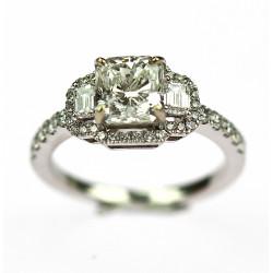 Diamantový prsten - GIA...