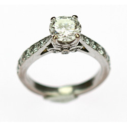 Prodáno - Zlatý prsten s...