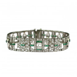 Platinum bracelet with...