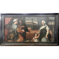 Barokní obraz - Šalamounův...