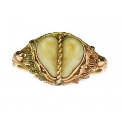 Zlatý prsten s grandlemi