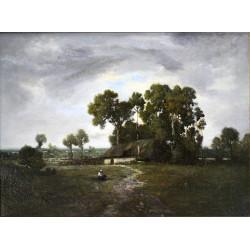 Léon Richet - Krajina po bouři