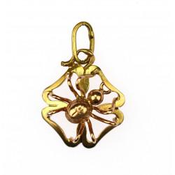 Zlatý přívěsek - pavouček