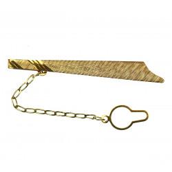 Zlatá spona na kravatu