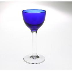 Skleněná likérka - art-deco