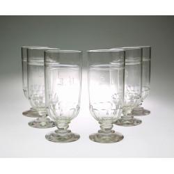 Set 6 sklenic s monogramem...
