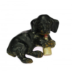 Biscuit figurine puppies