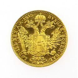 Zlatá mince Jednodukát...