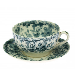 Cup with saucer - England
