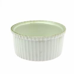 Porcelain souffle baking...