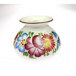 Ceramic vase with flowers
