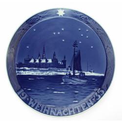 Dekorační talíř - Vánoce 1935