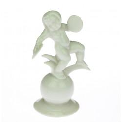 Porcelain statuette -...