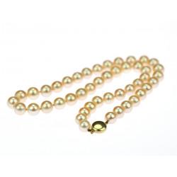 Náhrdelník s perlami akoya