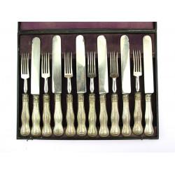 Stříbrné příbory pro 6 osob