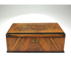 Dřevěná krabička - přelom...