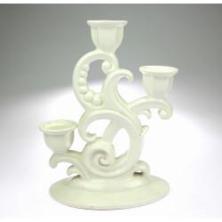 Porcelain candlestick -...